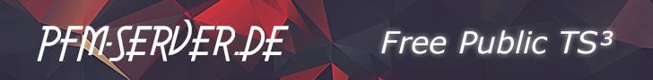 PFM-Server.de - Free Public TeamSpeak³ Server!