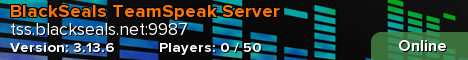 BlackSeals TeamSpeak Server