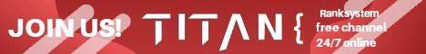 Puplic TeamSpeak: TITAN | Gaming