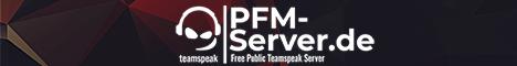 ✅ ➜ PFM-Server.de | Free Public TeamSpeak Server | Free