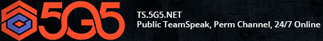 5G5.NET & PewPewGaming | Free Public TeamSpeak, Perm Channel